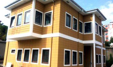 Cladire de birouri pe structura metalica din otel