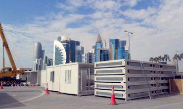 Proiect de containere pentru birouri