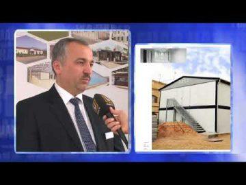 Canalul de știri ÜlkeTV [Targul de constructie 2014]
