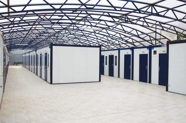 container-dormitor